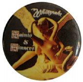 Whitesnake - 'Saints & Sinners' Button Badge